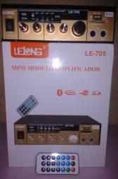 "R$ 269,90_AMPLiFiCAD0R ""C/Bluetooth"" Multimídia Universal 800W ""ZER0"""