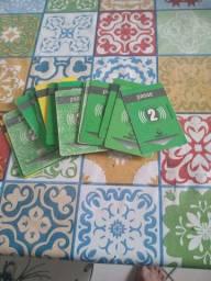 37 passes de ônibus por 160 reais