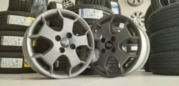 Jogo Rodas R15 Aro 15 Hyundai HB20X 2015 Original 4 Furos 4x100 Semi Nova