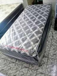 Cama box solteiro d28 nova
