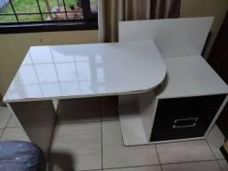 Mesa de escritório (escrivaninha) boa e barato