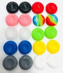 Kit Com 20 Grip Protetor Silicone Para Controle
