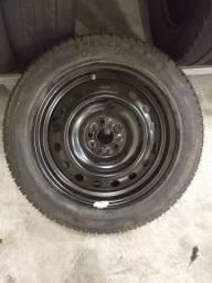 Estepe Toyota 5 furos com pneu zero sem uso