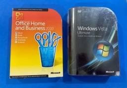 Windows Vista Ultimate Original + Office Home and Business 2010