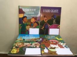 Kit de livros infantis diversos