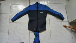 Material de mergulho usado.