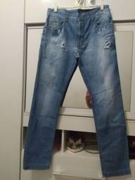 Calça masculina marca Ellus, veste 40