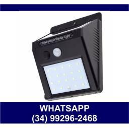 Luminária Solar c/ Sensor de Presença * Fazemos Entregas