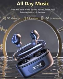 Fone de ouvido sem fio - LED (tecnologia 9D)