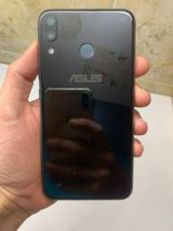 Vendo ZenFone 5 Novo 2019 64 GB com 4 de RAM  com película e capinha é carregador turbo
