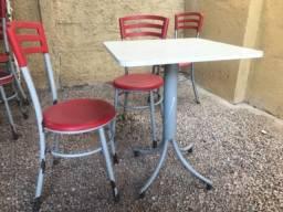 Mesas e cadeiras lanchonete restaurante