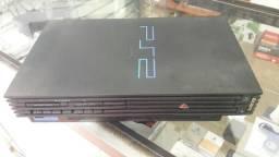 Playstation 2 tijolao raridade + 1 controle + jogos otimo estado aceito cartao de credito
