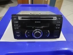 Toca CD, rádio, USB, original Toyota Etios