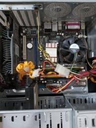 Vendo essa CPU , placa mãe Asus, Intel core 2 duo inside, placa de vídeo Asus En120