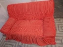 Dois sofá de dois lugares