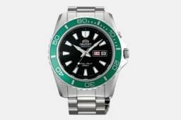 Relógio Orient Mako Xl Verde 200 M