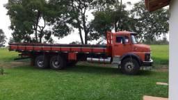 Mb 1313 vermelho carroceria - 1984