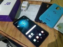 Samsung galaxy j8 plus 4g zerado completo nota fiscal fasso troca do meu interesse