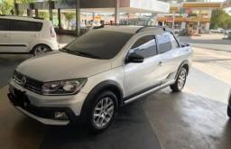 Saveiro Cross para pessoas exigentes, carro sem detalhes 100% original - 2017