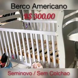 Berco Americano Sem Colchao