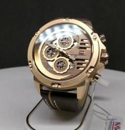 3b224fdef6b Relógio Naviforce Gold Army - Aceito Cartão Até 3x S  juros