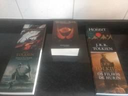 Coleção de livros senhor dos anéis