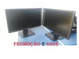 Leia Descrição a Baixo. Monitor 2 Unidd Dell 19 Led