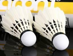 Peteca Badminton Pena de ganso Vel. 77