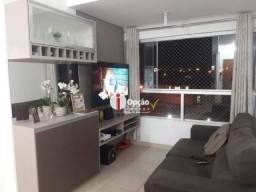 Apartamento à venda, 80 m² por r$ 300.000,00 - são carlos - anápolis/go