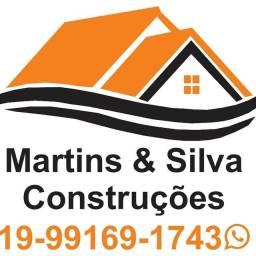 Martins e Silva construções *.