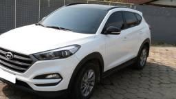 Hyundai New Tucson 2019 Turbo GDI Branca versão Black