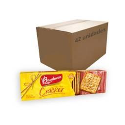 Atacado: Biscoito Cream Cracker Bauducco 200g - Caixa c/ 42 unidades