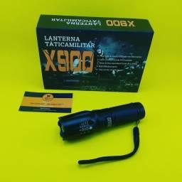 Lanterna X900 Recarregavel