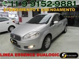 Fiat Linea Essence 1.8 Flex Dualogic - Ano 2014 - Bem Conservado - Financio