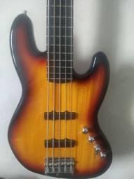 Jazz Bass Squier Deluxe V