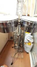 """Timbales 13"""" e 14"""""""