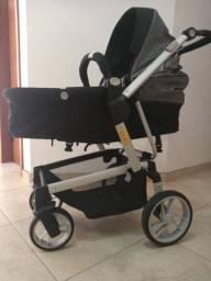 Carrinho de bebê + bebê conforto Dzieco em Santa Cruz Do Sul