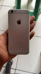 iphone 6 Silver semi novo