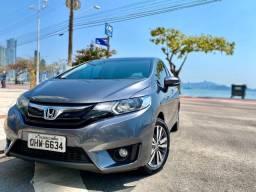 Honda Fit EX 1.5 Aut. - Chumbo especial