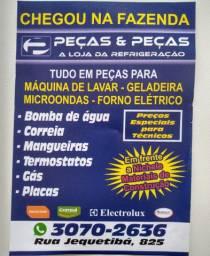 Venda de peças para eletrodomésticos em geral