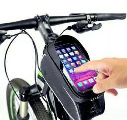 Bag Bolsa Quadro Bike 1,5L - Impermeável Alta Resistência