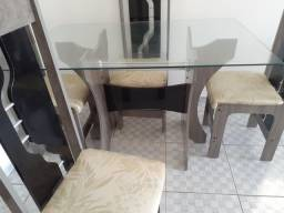 Mesa com 4 cadeiras Retirada Igarassu