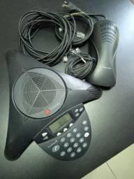 Aranha Polycom SoundStation 2 Display Conference Phone 2201-16000-601