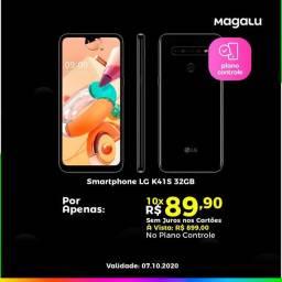 LG K41S SÓ Hoje Magalu Copacabana a Pronta Entrega