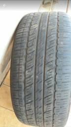 Rodas cromadas com pneus usados