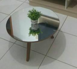 Mesa de centro espelhada