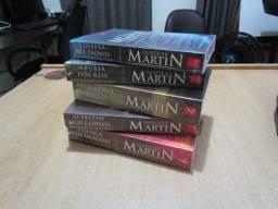 Box das Crônicas de Gelo e Fogo (GOT) - 5 livros