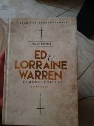 Livro Ed lorraine Warren dark side