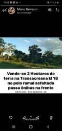 Vende-se terra de 2 hectares