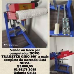 Vendo ou troco Transfer Giro 360 e impressora HP Laser. Estão novas